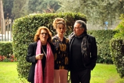 Foto/IPP/Gioia Botteghi 20/12/2013 Roma presentazione della fiction rai uno UN Matrimonio, nella foto: Andrea Roncato , Micaela Ramazzotti e Valeria Fabrizi