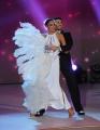 Foto/IPP/Gioia Botteghi 02/11/2013 Roma Ballando con le stelle 5 puntata, nella foto: Lea T e Simone Di Pasquale