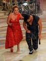 Foto/IPP/Gioia Botteghi 02/11/2013 Roma Ballando con le stelle 5 puntata, nella foto: Carolyn Smith e Gigi Mastrangelo