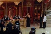 Foto/IPP/Gioia Botteghi 02/11/2013 Roma Ballando con le stelle 5 puntata, nella foto: Anna Oxa e Milly Carlucci