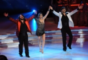 Foto/IPP/Gioia Botteghi 07/12/2013 Roma ultima puntata di Ballando con le stelle, nella foto: Lillo Greg con Elena Coniglio