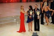 Foto/IPP/Gioia Botteghi 07/12/2013 Roma ultima puntata di Ballando con le stelle, nella foto: Francesca Testasecca e Stefano Oradei terzi classificati