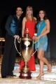 Foto/IPP/Gioia Botteghi 07/12/2013 Roma ultima puntata di Ballando con le stelle, nella foto: i vincitori Elisa Di Francisca e Raimondo Todaro con Milly Carlucci