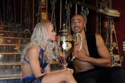 Foto/IPP/Gioia Botteghi 07/12/2013 Roma ultima puntata di Ballando con le stelle, nella foto: Amaurys Perez e Veera Kinnunen secondi classificati