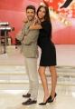 Foto/IPP/Gioia Botteghi 03/10/2013 Roma conferenza stampa di Ballando con le stelle , nella foto Lea T e Simone Di Pasquale