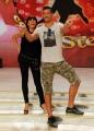 Foto/IPP/Gioia Botteghi 03/10/2013 Roma conferenza stampa di Ballando con le stelle , nella foto Gigi Mastrangelo e Sara Di Vaira