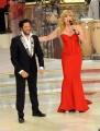 Foto/IPP/Gioia Botteghi 05/10/2013 Roma Ballando con le stelle , nella foto Milly Carlucci ed il nuovo giurato Raffaello Amargo
