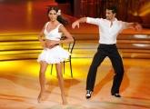 Foto/IPP/Gioia Botteghi 05/10/2013 Roma Ballando con le stelle , nella foto Lea T e Simone Di Pasquale