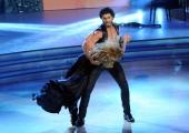 Foto/IPP/Gioia Botteghi 12/10/2013 Roma Ballando con le stelle, nella foto: Jesus Luz e Agnese Junkure