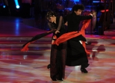 Foto/IPP/Gioia Botteghi 12/10/2013 Roma Ballando con le stelle, nella foto: Anna Oxa e Samuel Peron