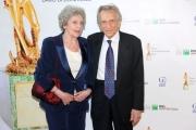 Foto/IPP/Gioia Botteghi Roma14/06/2013 serata Premio David di Donatello, nella foto: Roberto Herlitzka e signora