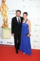 Foto/IPP/Gioia Botteghi Roma14/06/2013 serata Premio David di Donatello, nella foto: Raffaella Rea e marito