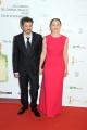 Foto/IPP/Gioia Botteghi Roma14/06/2013 serata Premio David di Donatello, nella foto: Fabrizia Sacchi e marito