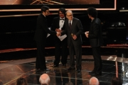 Foto/IPP/Gioia Botteghi Roma14/06/2013 serata Premio David di Donatello, nella foto: Premiazione Ennio Morricone premiato da Max Gazzè