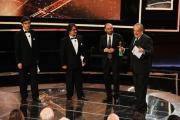 Foto/IPP/Gioia Botteghi Roma14/06/2013 serata Premio David di Donatello, nella foto: Premiazione Luigi Abete premia Tornatore