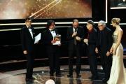 Foto/IPP/Gioia Botteghi Roma14/06/2013 serata Premio David di Donatello, nella foto: Premiazione fratelli Taviani premiano Tornatore