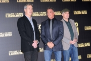 Foto/IPP/Gioia Botteghi 07/01/2014 Roma presentazione del film IL GRANDE MATCH, nella foto:   Sylvester Stallone, Robert De Niro e il regista Peter Segal
