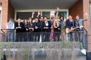 Foto/IPP/Gioia Botteghi     10/12/2014 Roma i giovani di San Remo, nella foto: tutti i giovani partecipanti con Carlo Conti