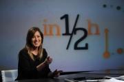 Foto/IPP/Gioia Botteghi 12/01/2014 Roma Maria Elena Boschi ospite di Lucia Annunziata