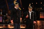 Foto/IPP/Gioia Botteghi 13/09/2014 Roma puntata di Sogno e son desto 2, nella foto: Massimo Ranieri con Max Tortora