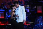 Foto/IPP/Gioia Botteghi 13/09/2014 Roma puntata di Sogno e son desto 2, nella foto: Massimo Ranieri con Simona Molinari
