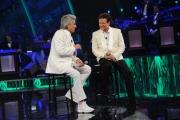 Foto/IPP/Gioia Botteghi 13/09/2014 Roma puntata di Sogno e son desto 2, nella foto: Massimo Ranieri con Toto Cutugno