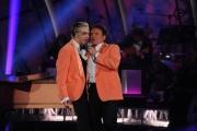 Foto/IPP/Gioia Botteghi 13/09/2014 Roma puntata di Sogno e son desto 2, nella foto: Massimo Ranieri con Morgan
