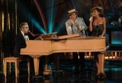 Foto/IPP/Gioia Botteghi 13/09/2014 Roma puntata di Sogno e son desto 2, nella foto: Massimo Ranieri con Simona Molinari e Morgan