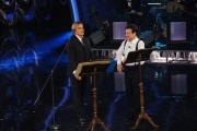 Foto/IPP/Gioia Botteghi 13/09/2014 Roma puntata di Sogno e son desto 2, nella foto: Massimo Ranieri con Andrea Griminelli