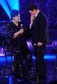 Foto/IPP/Gioia Botteghi 11/01/2014 Roma nuovo programma di rai uno Sogno e son desto, con Massimo Ranieri Lucia Bosè