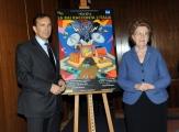 Foto/IPP/Gioia Botteghi 22/01/2014 Roma Annamaria Tarantola e Luigi Gubitosi per i 50 anni Rai