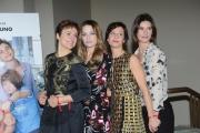 Foto/IPP/Gioia Botteghi 24/01/2014 Roma  presentazione della fiction rai Braccialetti rossi, nella foto : Simonetta Solder, Laura Chiatti, Michela Cascon, Carlotta Natoli