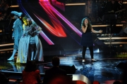 Foto/IPP/Gioia Botteghi 01/02/2014 Roma  Prima puntata di Ti lascio una canzone, nella foto:  Claudia Ciccateri