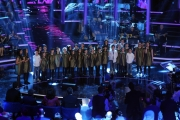 Foto/IPP/Gioia Botteghi 01/02/2014 Roma  Prima puntata di Ti lascio una canzone, nella foto:  Piccolo coro Sant'Efisio