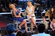 Foto/IPP/Gioia Botteghi 15/02/2014 Roma terza puntata di Ti lascio una canzone,nella foto Antonella Clerici e Michelle Hunziker