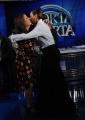 Foto/IPP/Gioia Botteghi 04/02/2014 Roma  puntata di porta a porta sui 60 anni della televisione, nella foto:  Simona Ventura con Sabina Ciuffini