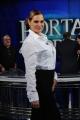 Foto/IPP/Gioia Botteghi 04/02/2014 Roma  puntata di porta a porta sui 60 anni della televisione, nella foto:  Simona Ventura