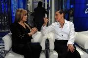 Foto/IPP/Gioia Botteghi 04/02/2014 Roma  puntata di porta a porta sui 60 anni della televisione, nella foto: Milly Carlucci  Simona Ventura