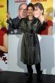 Foto/IPP/Gioia Botteghi 11/02/2014 Roma  presentazione del film SOTTO UNA BUONA STELLA, nella foto:  Tea Falco