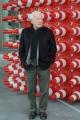 Foto/IPP/Gioia Botteghi 12/02/2014 Roma  presentazione delprogramma di rai tre FUORI QUADRO, nella foto  il conduttore del programma Achille Bonito Oliva