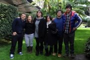 Foto/IPP/Gioia Botteghi 13/02/2014 Roma  presentazione del docu-fiction di rai tre Hotel 6 stelle, nella foto:  i sei ragazzi