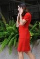 Foto/IPP/Gioia Botteghi 27/02/2014 Roma  presentazione del film Allacciate le cinture, nella foto: KASIA SMUTNIAK incinta