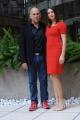 Foto/IPP/Gioia Botteghi 27/02/2014 Roma  presentazione del film Allacciate le cinture, nella foto: FERZAN OZPETEK con  KASIA SMUTNIAK,
