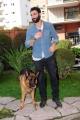 Foto/IPP/Gioia Botteghi 03/03/2014 Roma  Francesco Arca con Rex ospite di Magalli a i fatti vostri