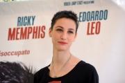 Foto/IPP/Gioia Botteghi 03/05/2014 Roma  Presentazione del film La mossa del pinguino, nella foto Francesca Inaudi