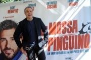Foto/IPP/Gioia Botteghi 05/03/2014 Roma  Presentazione del film La mossa del pinguino, nella foto Claudio Amendola