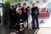 Foto/IPP/Gioia Botteghi 05/03/2014 Roma  Presentazione del film La mossa del pinguino, nella foto il cast
