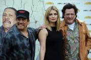 Foto/IPP/Gioia Botteghi 15/03/2014 Roma presentazione del film Hope Lost, nella foto: Danny Trejo  Mischa Burton  Michael Madsen