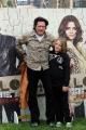 Foto/IPP/Gioia Botteghi 15/03/2014 Roma presentazione del film Hope Lost, nella foto: Michael Madsen con il figlio