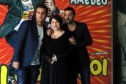 Foto/IPP/Gioia Botteghi 18/03/2014 Roma presentazione del film Amici come noi, nella foto: Maria Di Biase, Pio D'Antini, Amedeo Grieco